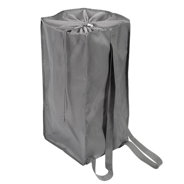 Backpack Laundry Bag, Grey