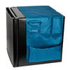 7-Pocket Mini Fridge Caddy, Blue