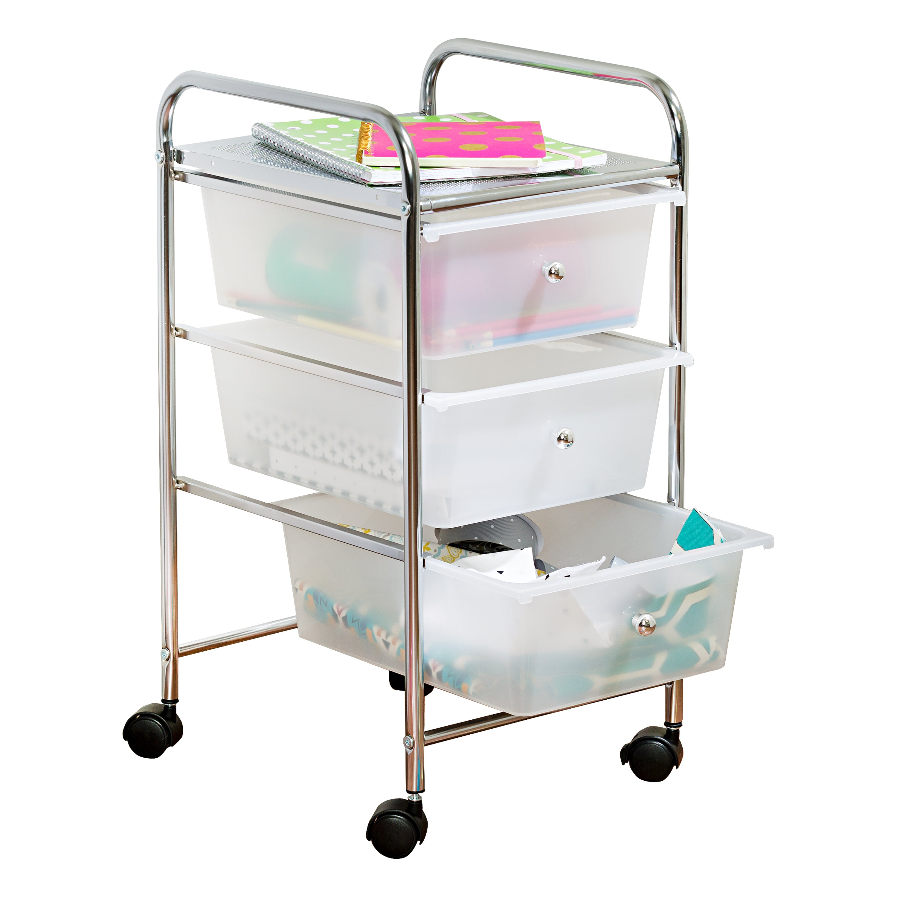 cubes drawers maidmax for rolling clothes and brakes organizer cart tools black storage papers collapsible with wheels product drawer