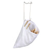 Clothespin Bag, White