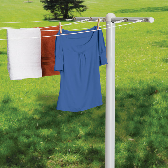 Outdoor Drying Pole- 5 Lines