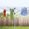 165-foot Outdoor Umbrella Clothes Dryer, Aluminum