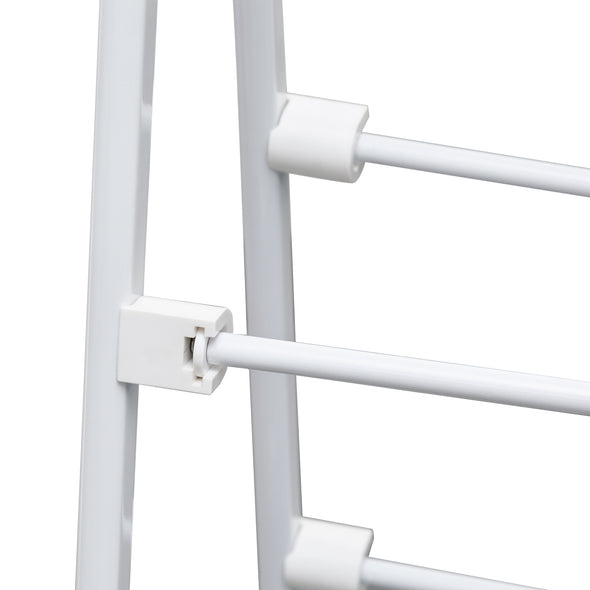 Large A-Frame Clothes Drying Rack, White