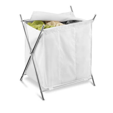 chrome-triple-x-frame-hamper