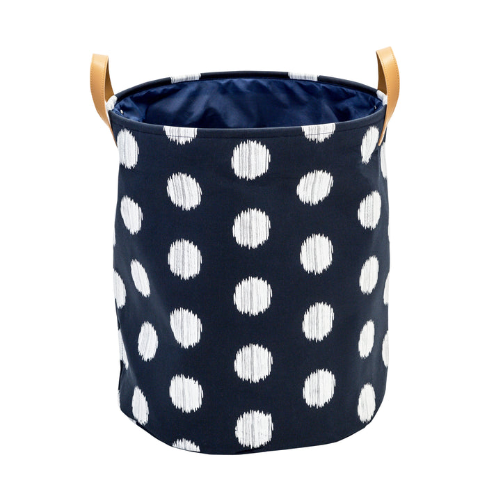 Canvas Scribble Hamper, Coastal Collection