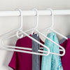 3-Pack Heavy-Duty Plastic Hangers, White