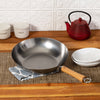 Joyce Chen Classic Series 12-Inch Carbon Steel Stir Fry Pan with Birch Handle