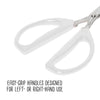 Joyce Chen Original Unlimited Kitchen Scissors with White Handles