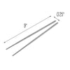 Joyce Chen Reusable Stainless Steel Metal Chopsticks Set, 10 Pairs