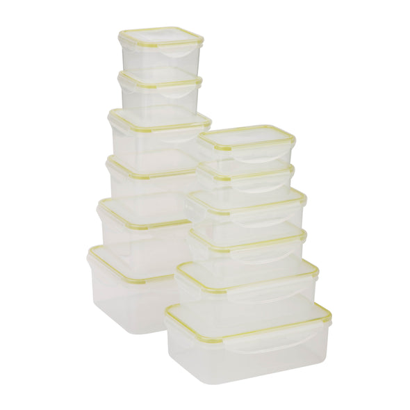 24pc Snap-lock food storage