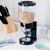 17.5-oz Cereal Dispenser with Portion Control, Black