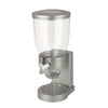 17.5-oz Cereal Dispenser with Portion Control, Silver