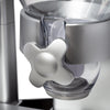 Double Cereal Dispenser with Portion Control, Silver