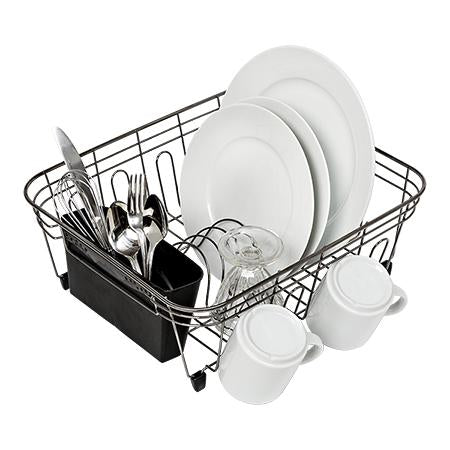 Sm Dish Drying Rack, Bk Chrome