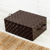Hinged Lid Storage Box, Espresso