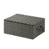 Hinged Lid Storage Box, Speckled