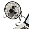 Small USB Desk Fan, Black