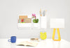 Perch 5- Piece Magnetic Wall Storage System, White
