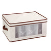 18x14 Window Storage Box, Natural/Brown