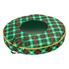 36-Inch Wreath Storage with Clear View Panel, Very Merry Plaid