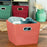 Medium Storage Bin, Orange