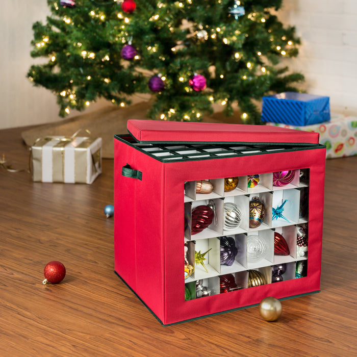 120 cube ornament storage container