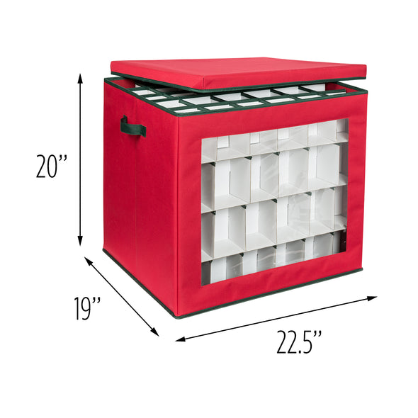 120-Cube Ornament Storage Container