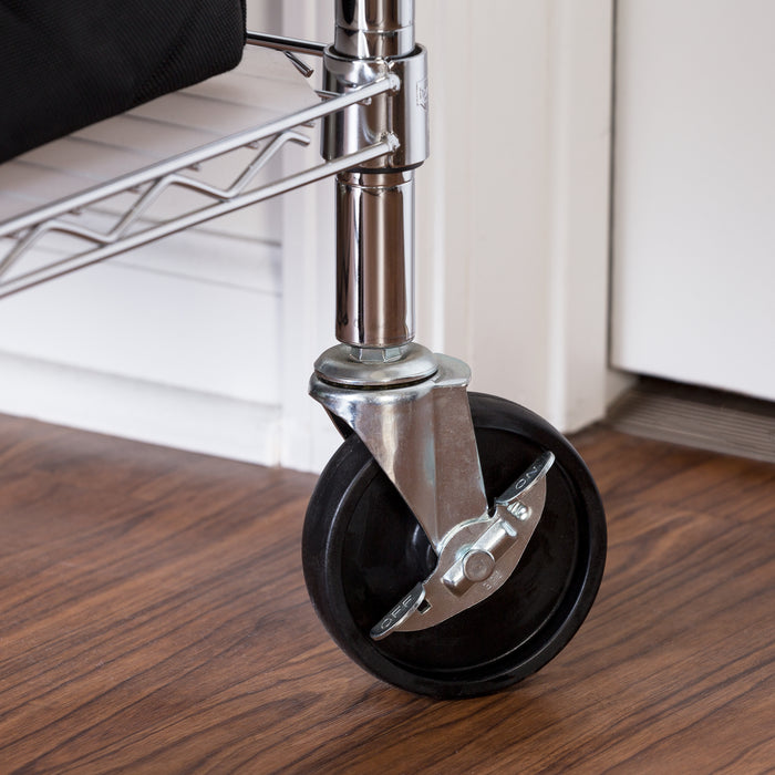 Set of 4 Shelving Unit Wheels / Casters