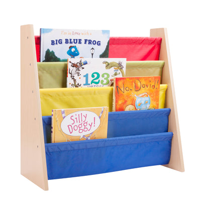 24-Inch Kids Book Rack, Primary