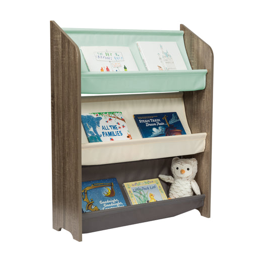 "Explore + Store 38"" 3-Tier Kids Book Rack"
