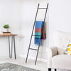 Leaning Ladder Rack, Black
