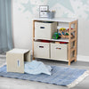 4-Bin Kids Playroom Organizer