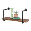 Black Industrial Wall Shelf