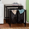 Double Laundry Hamper and Folding Table