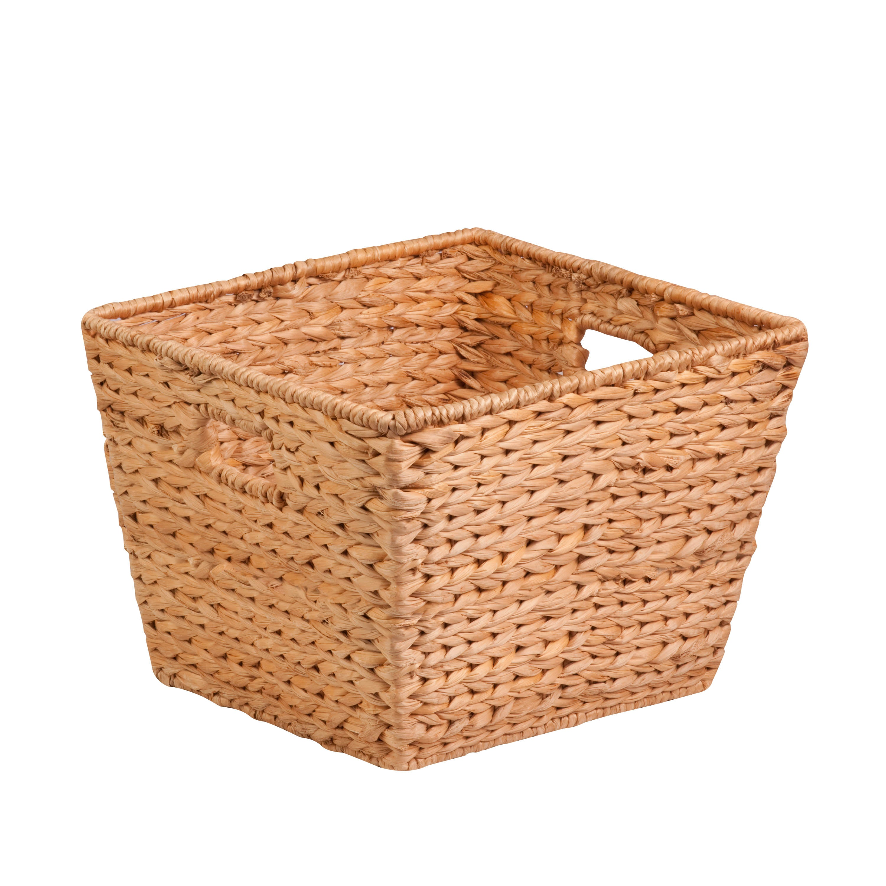 Tall Hyacinth Basket Natural