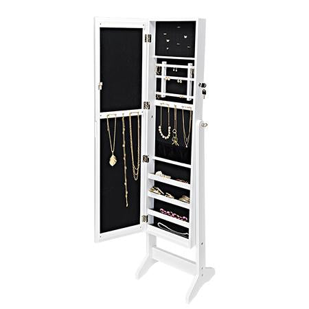Free-Standing Jewelry Armoire
