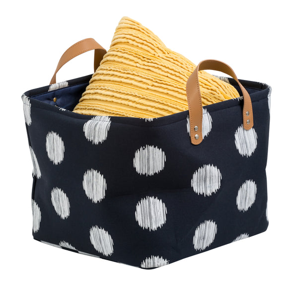 Canvas Scribble Tote Set of 2, Coastal Collection