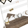 5x8-Inch Jewelry Stand for Earrings and Rings