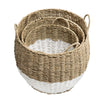 set-of-3-round-nesting-seagrass-2-color-storage-baskets-with-handles-natural-white