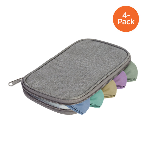 Honey-Can-Do Set-of-4 Face Mask Storage Pouches