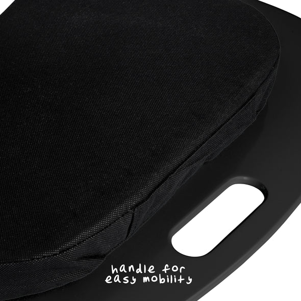 Cushioned Laptop Lap Desk, Black