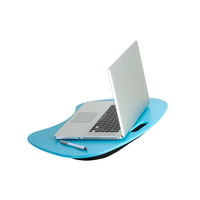 Laptop Desk With Carrying Handle, Blue