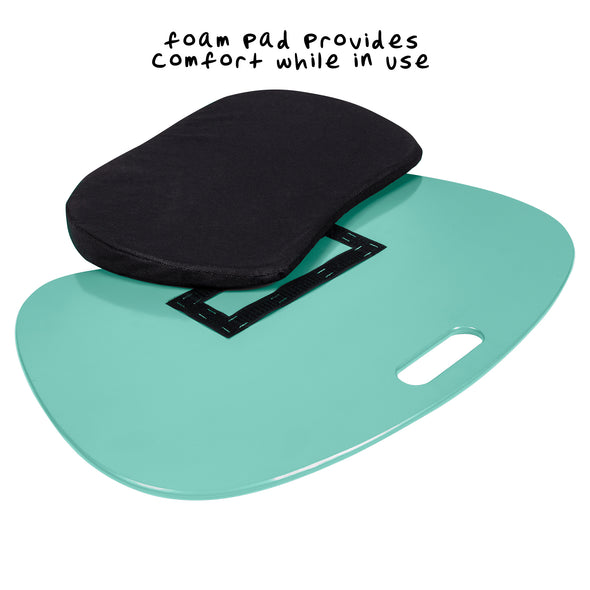 Cushioned Laptop Lap Desk, Mint