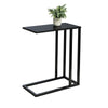 Black C End Table