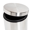 5L Round Stainless Steel Trash Can