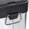 8L Rectangular Stainless Steel Step Trash Can
