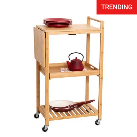 38-inch-rolling-bamboo-kitchen-cart