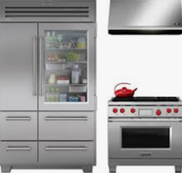 Open box high-end appliances outlet floor model subzero wolf Viking Thermador Miele Bosch