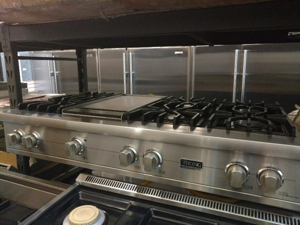 Viking refurbished rangetop stovetop oven high-end appliance open box floor model outlet orange county