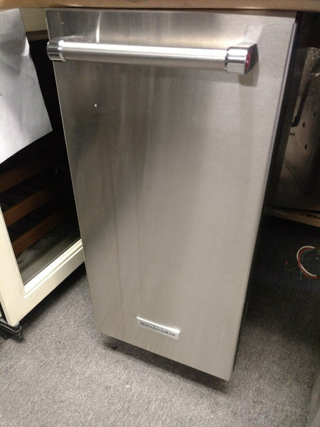 "KitchenAid 15"" Stainless Steel Automatic Ice Maker NEW"